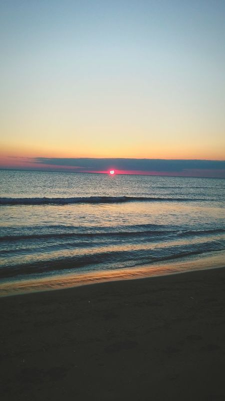 Sunset Sea Sun Beach Naturecolor Hello World Incredible Clouds And Sky