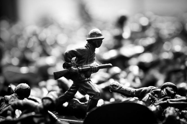 Stand Out From The Crowd Soldier Blackandwhite Toysoldier Art Lastmanstanding Dramatic Moody Wexford