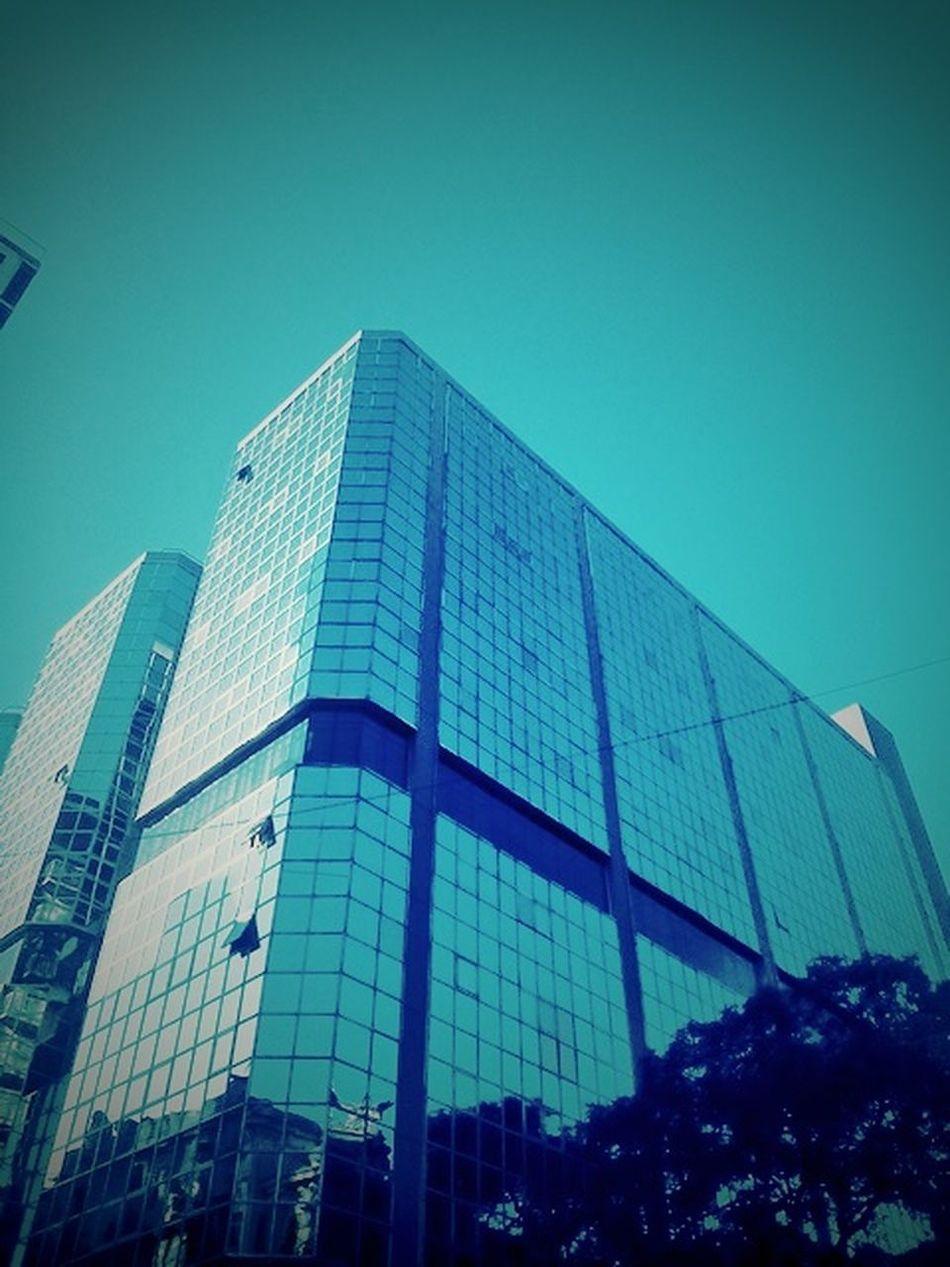 Building Street Urban Glass Sky Bluesky Clouds Urbanbuilding
