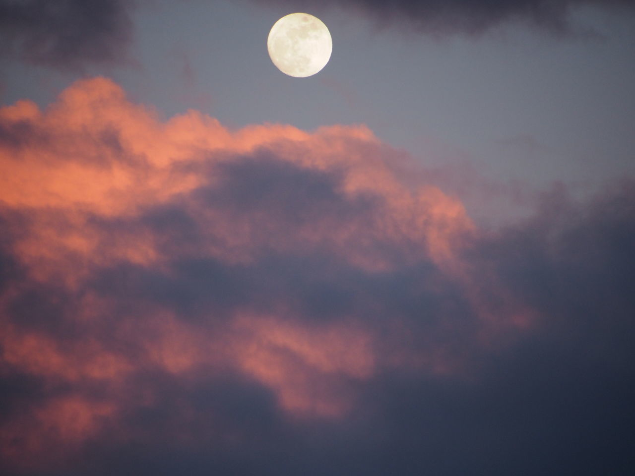 Astronomy Beauty In Nature Cloud - Sky Dramatic Sky Full Moon Behind Clouds Full Moon Rising Idyllic Moon Nature Orange Sky Outdoors Scenics Sky Tranquil Scene Tranquility Tripod At Its Finest