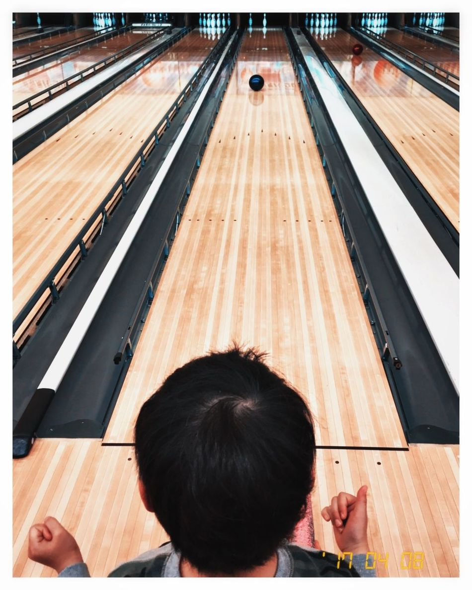 Japan High Angle View One Person Real People Day Indoors  People Leisure Activity Holiday Family Child Childhood Game Sport Bowling Bowling Alley Resist The Secret Spaces Art Is Everywhere