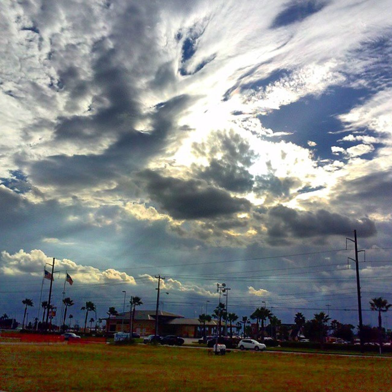 Clouds Sky Mcallen Texas