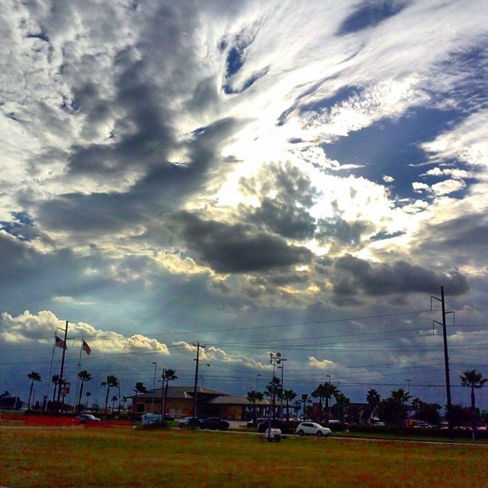 Clouds Sky Mcallen Texas