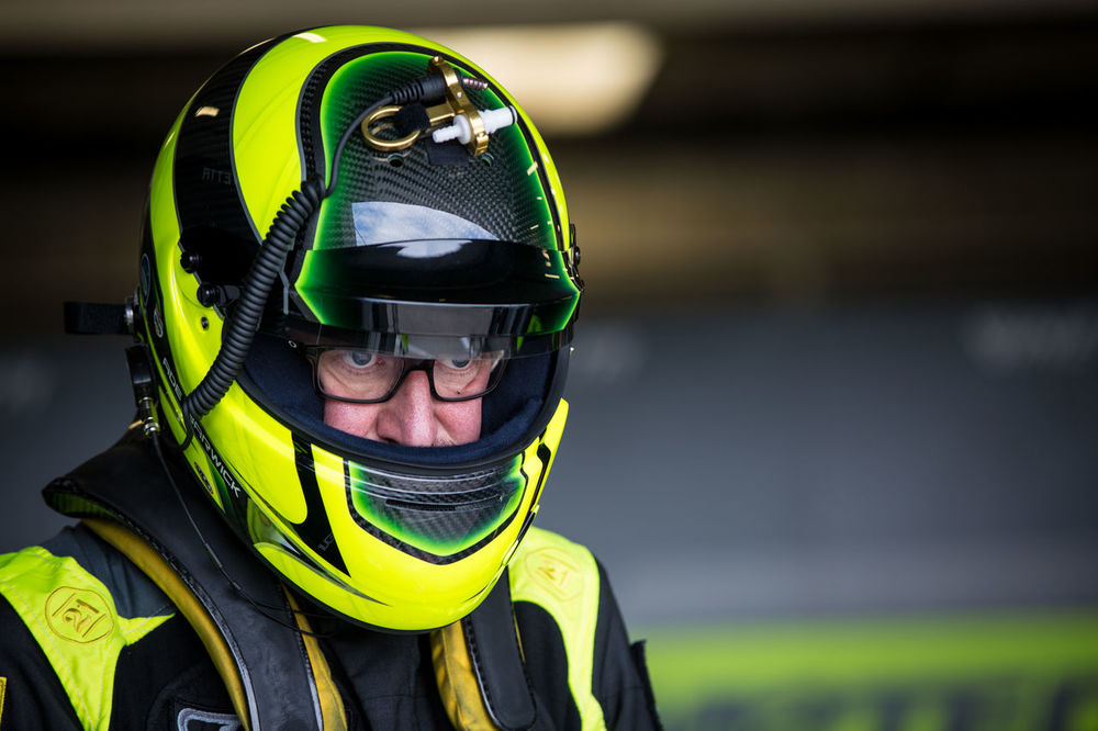 Ade Barwick British Gt Colour Day Focus On Foreground Headshot Helmet One Person Racing Silverstone Sports Helmet Twist