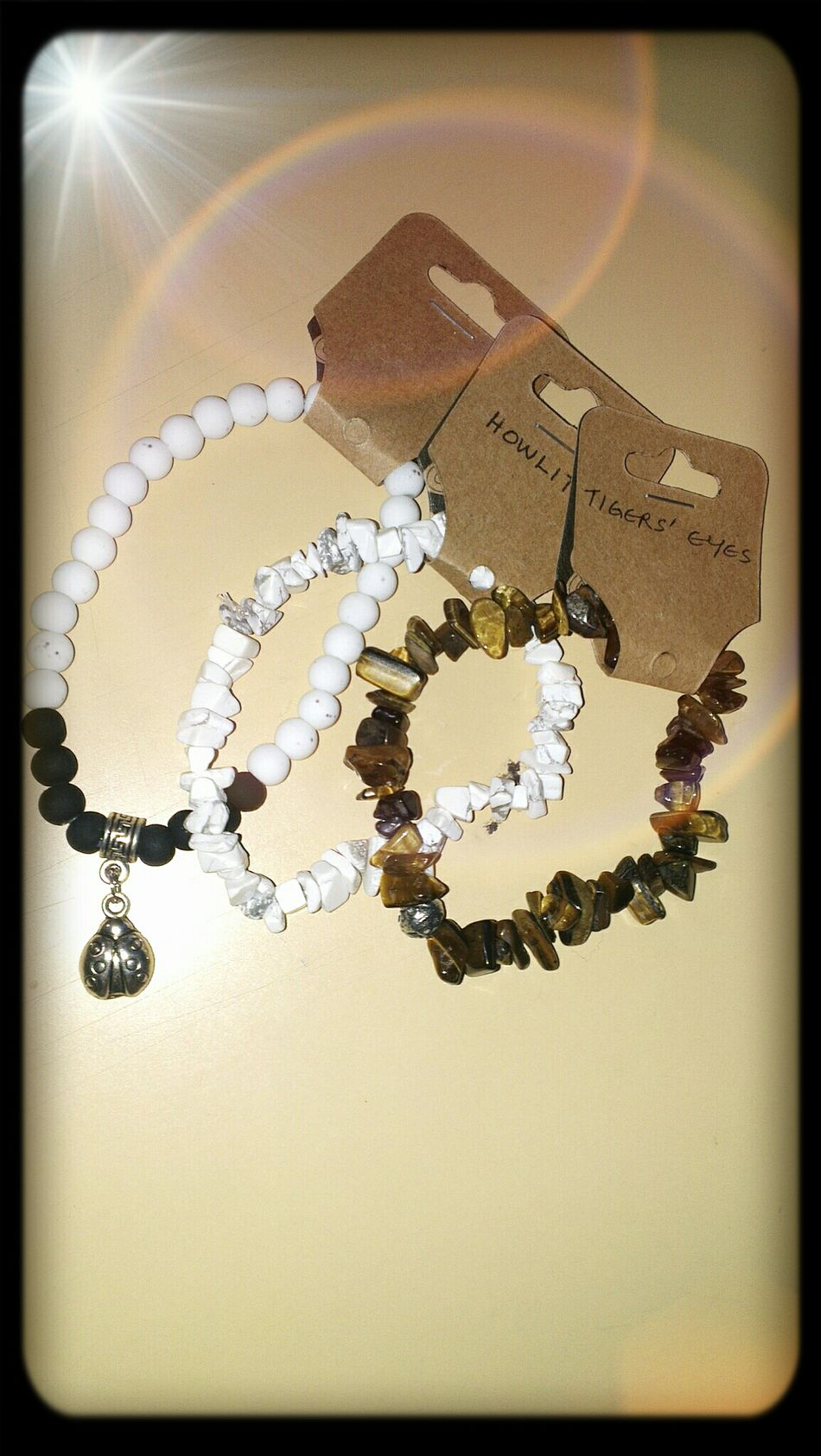 Bought this to satisfy my wrists hunger.. Tigerstyle Beaded Bracelets My Bracelet>  Eye4delight #ARphotography