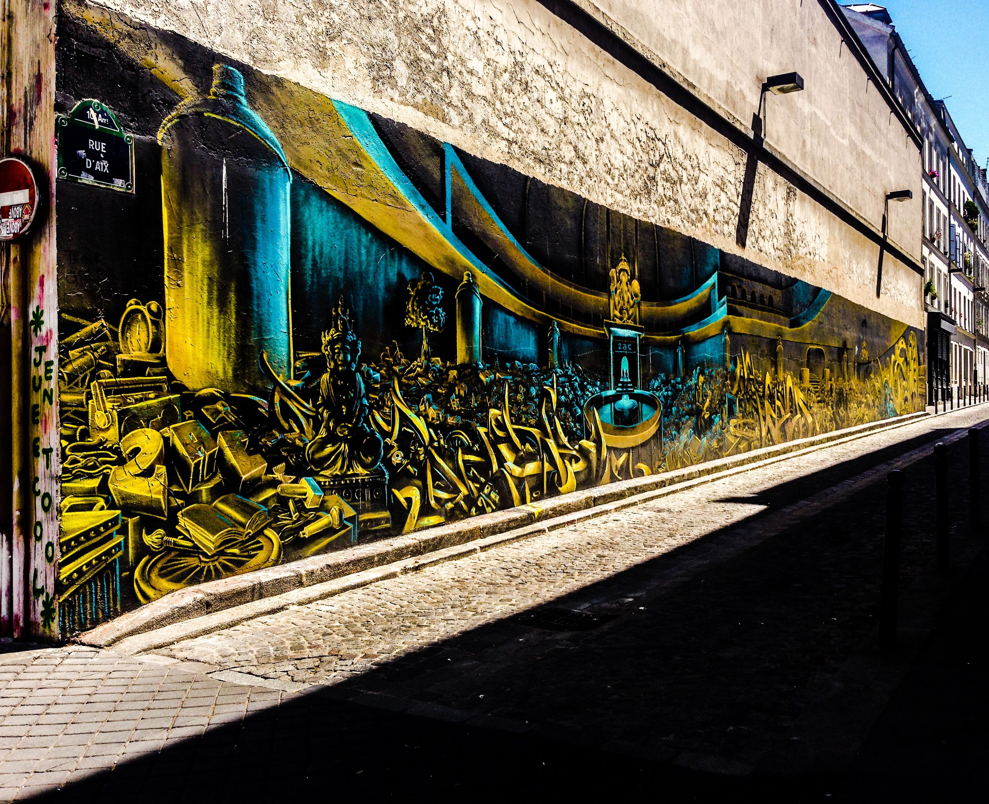 Paris Streetart Graffiti Streetart/graffiti Urban Art