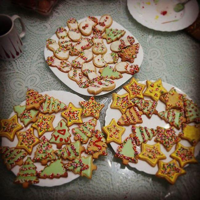 Xmas Time ! Biscottini di Natale  Alberello 🎄 Stella 🌟 Pupazzodineve ⛄ ❄🍭💖🎅🍫