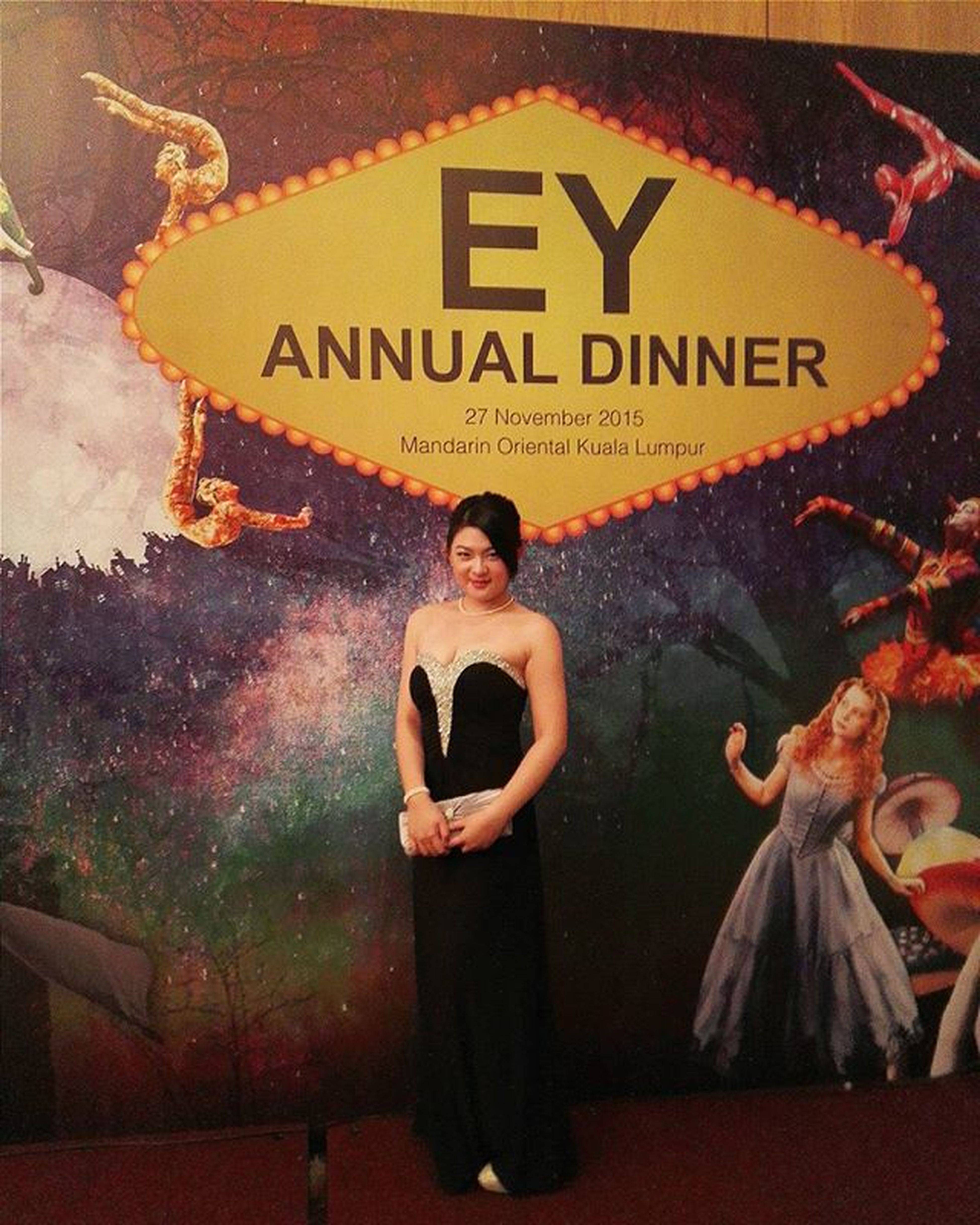 Such great experience attending EY annual dinner for the first time! Eyannualdinner2015 Black Fantabulous  Flamboyant Fantastical