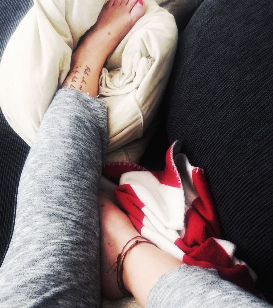 Sometimes you just have to stop, look around and just remember what you had in your mind when you first took the step to your goals... Relaxing Exhausted Legs Taking Photos Focus On The Couch Nervous Have A Bad Feeling Feeling Nervous Red Nails Joggers Watching Tv Mood