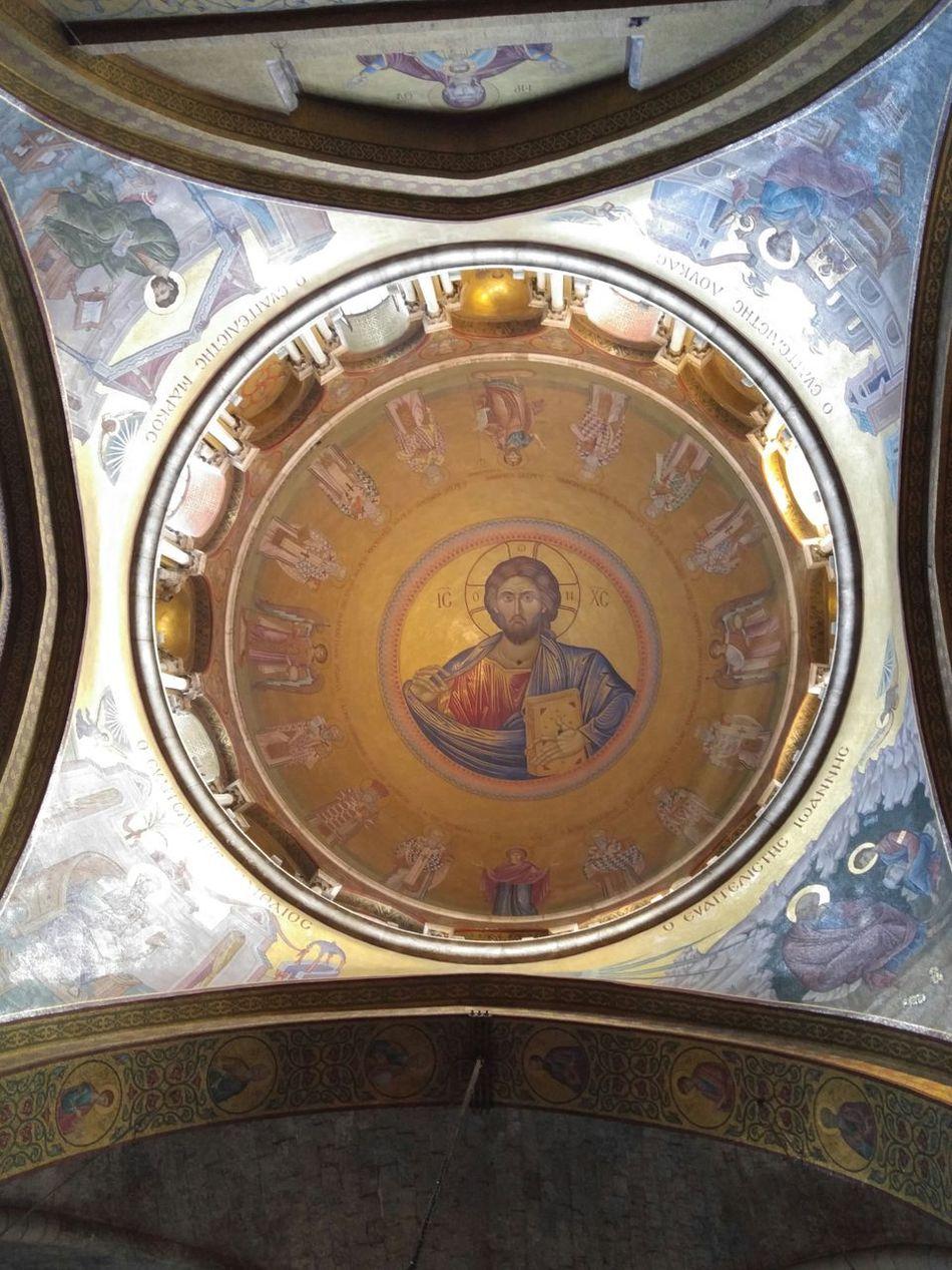 Church Church Of The Holy Sepulshre Old City Jerusalem Christian Quarter Christ Art Dome Church Of The Holy Sepulchre