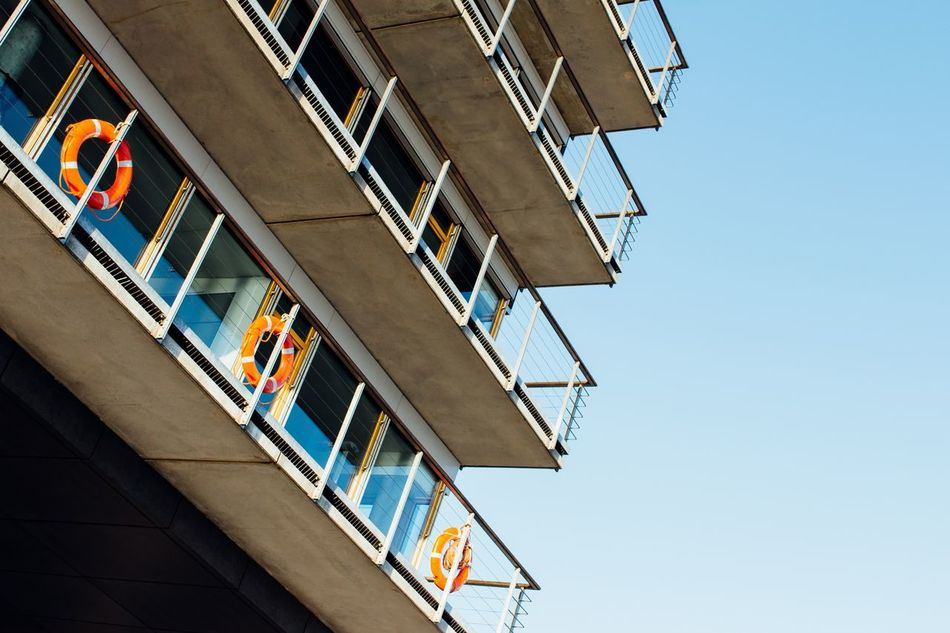 Beautiful stock photos of safety, Architecture, Building Exterior, Built Structure, Clear Sky