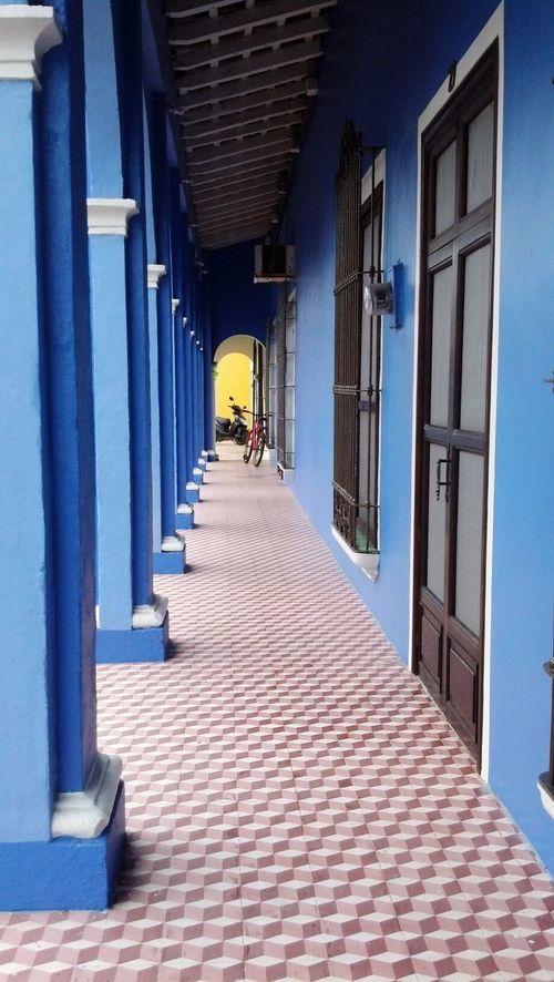 Azul mar... amarillo piña...