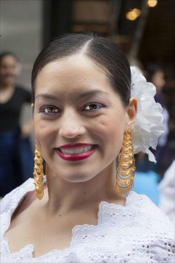 New York Dance Parade Female Dancer New York Dance Parade Portrait