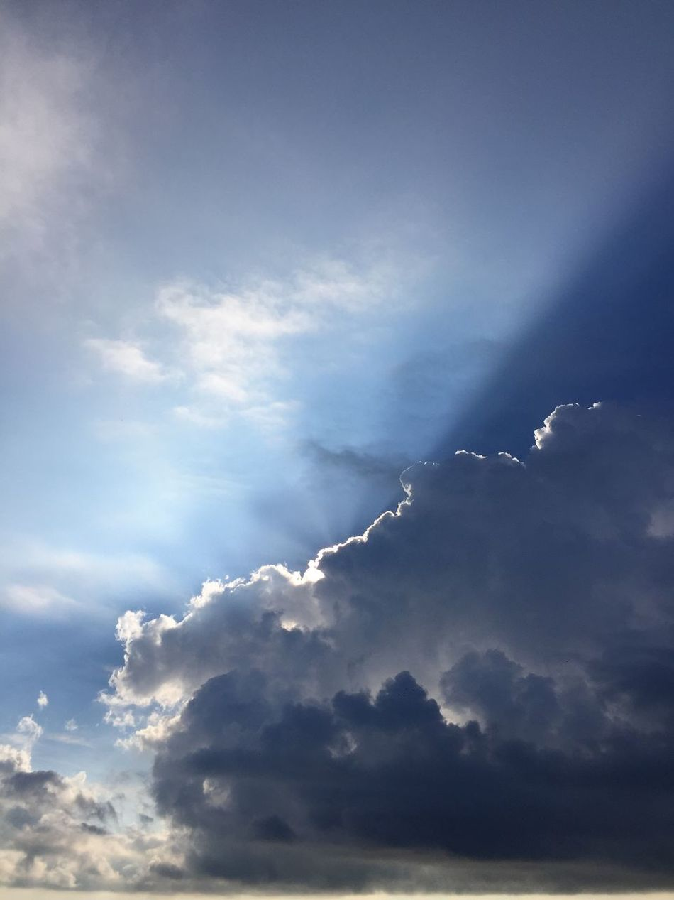 Cloud - Sky Low Angle View No People Beauty In Nature Scenics Sky Tranquility Day Outdoors Impending Storm