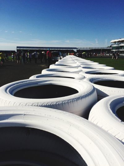 Tyre Wall Wall Tyres Silverstone Close-up