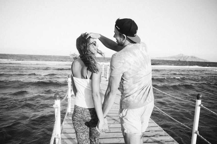 Couple Emotion Emotions Freedom Love Lovers Summer Swimming Travel Traveling Tropical Young