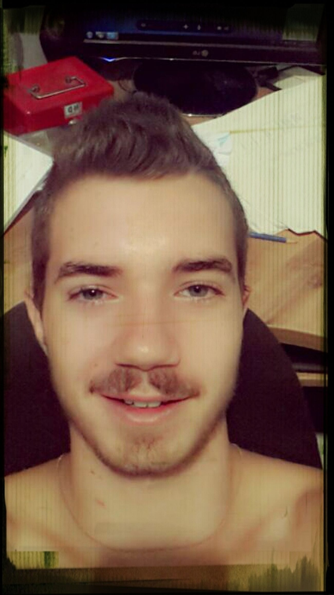 Shave The Mustache ?