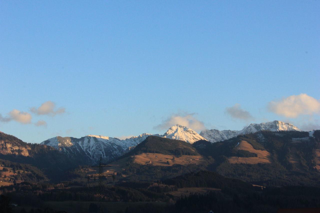 Beautiful stock photos of feuer, blue, mountain, mountain range, nature