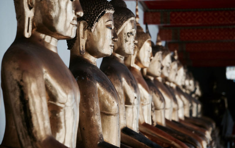 Buda Thailand Art And Craft Close-up History Human Representation Indoors  No People Place Of Worship Religion Sculpture Spirituality Statue Travel Destinations