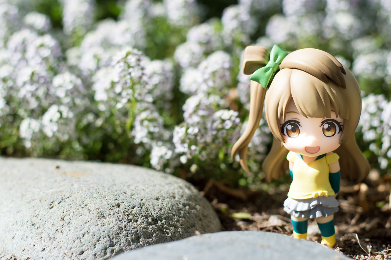 It's spring time. Figurephotography Toyphotography Goodsmilecompany Nendoroid Nendophotography Lovelive Kotoriminami