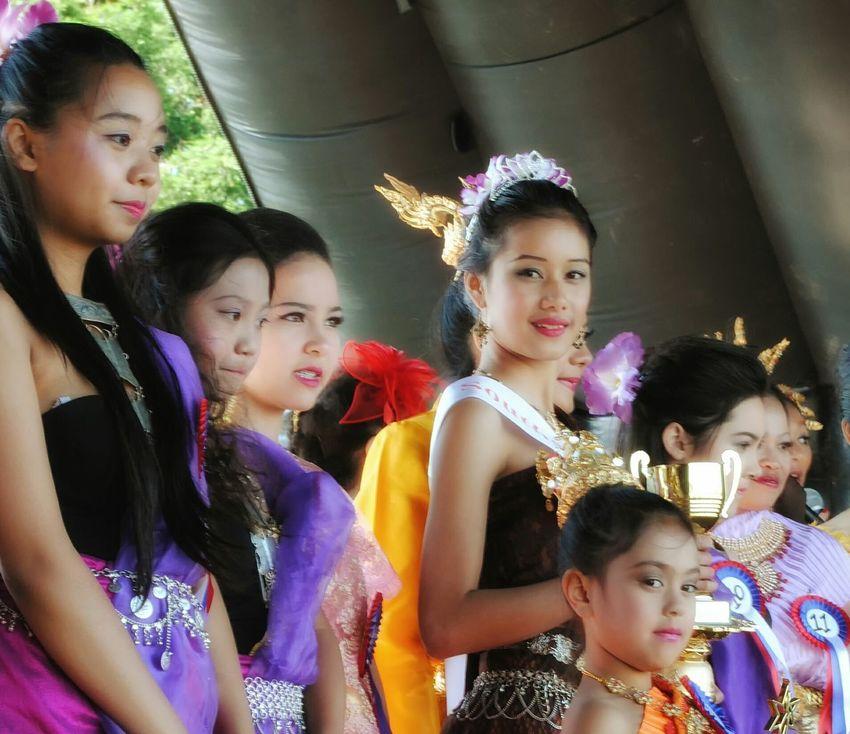 Girls Beautiful Beauty Contest Asian Culture Asian Culture
