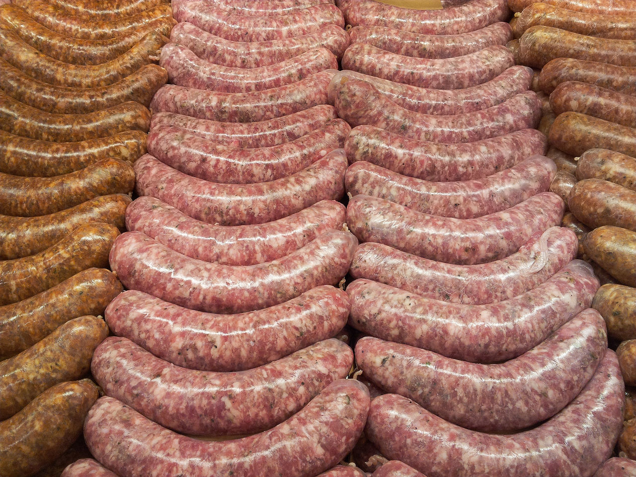 Fresh bratwursts Abundance Arrangement Backgrounds BBQ Beef Brats Bratwurst Butcher Circle Close-up Cooking Culture Design Detail Food Food Photography Foodphotography Full Frame Geometry Grilling Meat! Meat! Meat! Metal No People Order Pattern Pork Repetition Spiral Yum Yummy