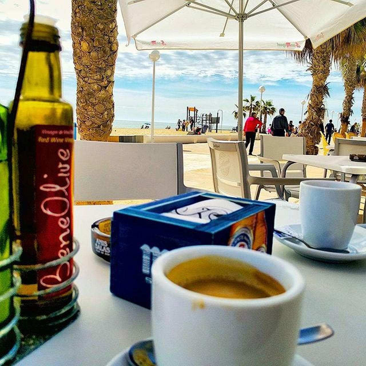 Great coffee!! Alicante Coffee Beachlife