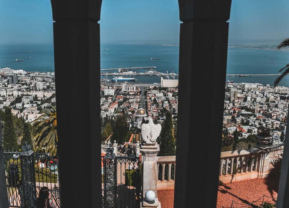 Architecture Built Structure Arch Window Water Sea Indoors  Day Architectural Column Building Exterior City Sky No People Cityscape Horizon Over Water Travel Destinations Full Length Backgrounds Old City Cityscape Tranquility City Tourism Shadow Outdoors