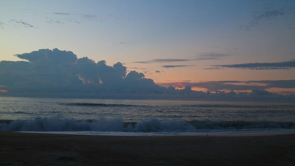Ocean Beach Outer Banks, NC North Carolina Sky Clouds Sunrise Beautiful Nature