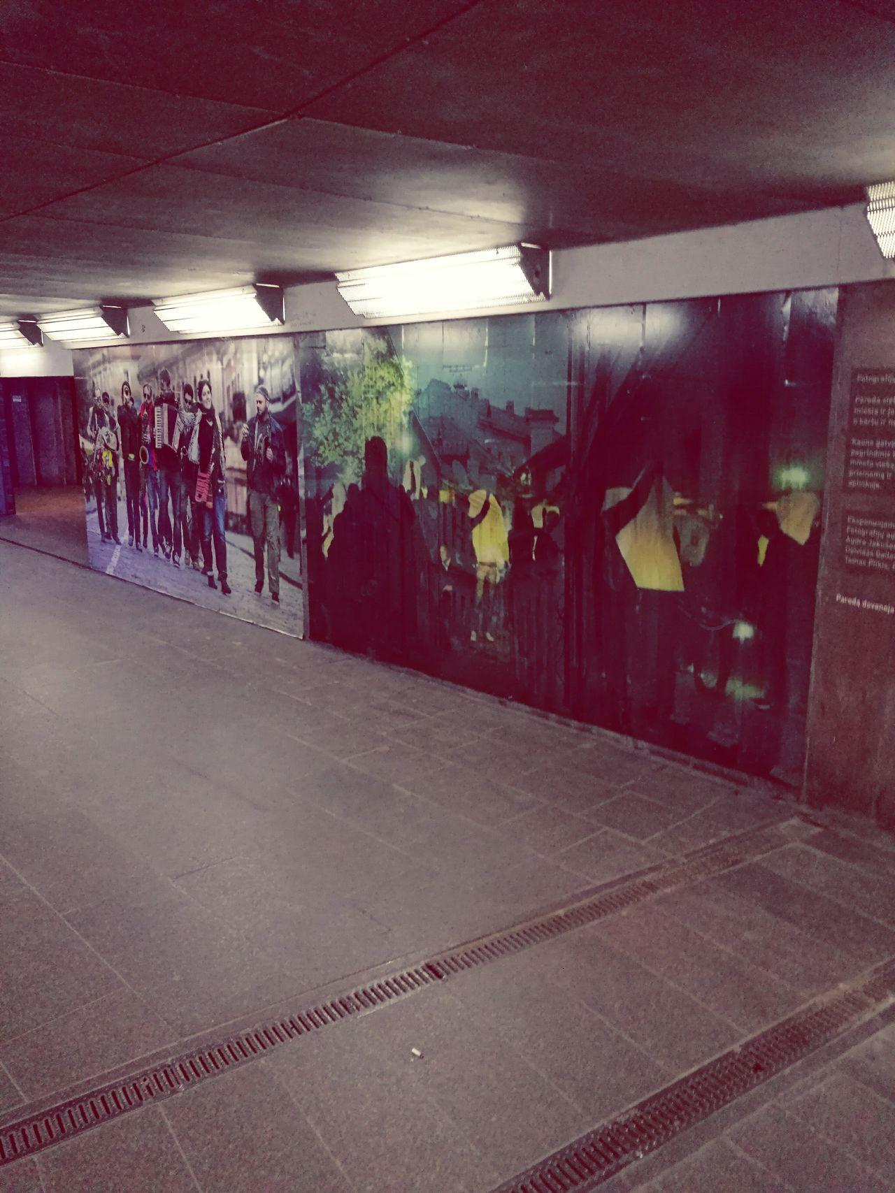 Nightlife Kaunas City Lithuania Undergroundpassage Underground Passage The Street Photographer - 2017 EyeEm Awards