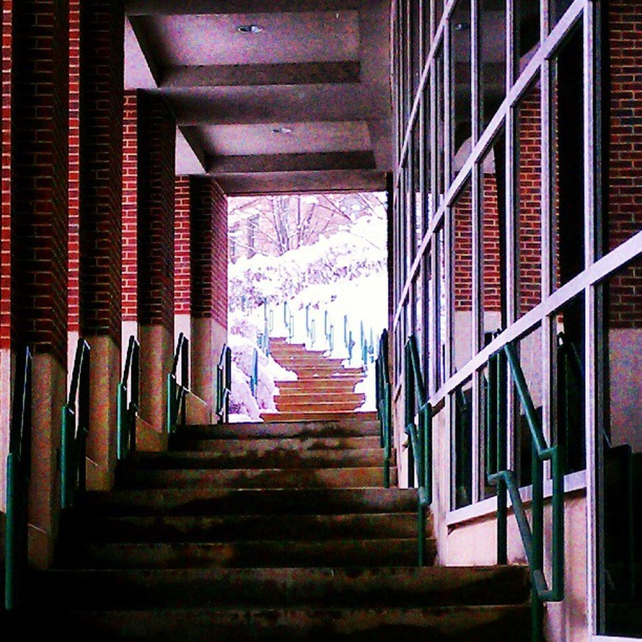 staircase, steps and staircases, steps, in a row, railing, stairs, architecture, indoors, spiral, built structure, no people, day, hand rail