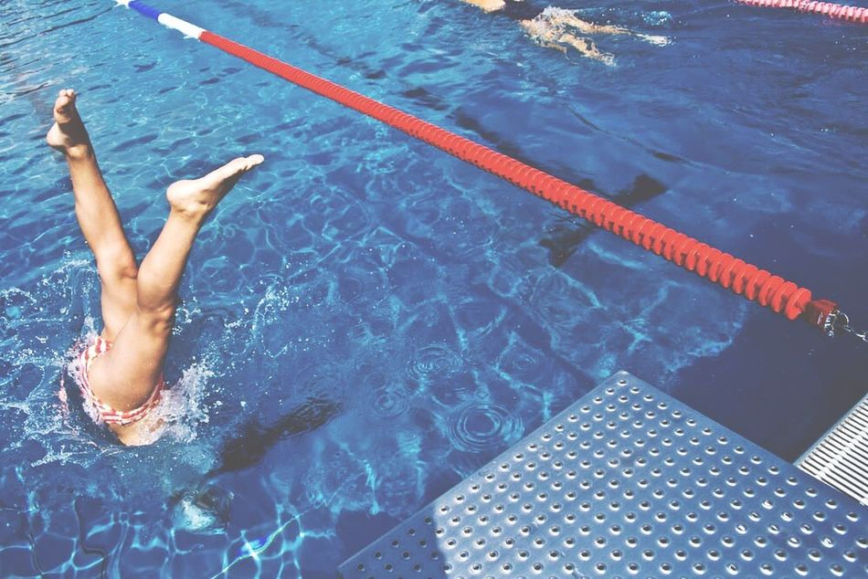 Beautiful stock photos of fitness, Blue, Carefree, Day, Diving
