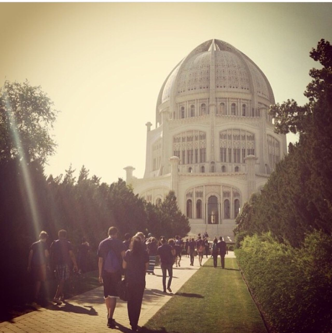 Chicago Illinois Bahai Temple Hands Of Peace Hoplove United