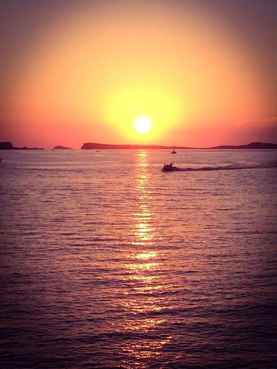 ibiza sunset Sunset Ibiza Beachphotography Seaside