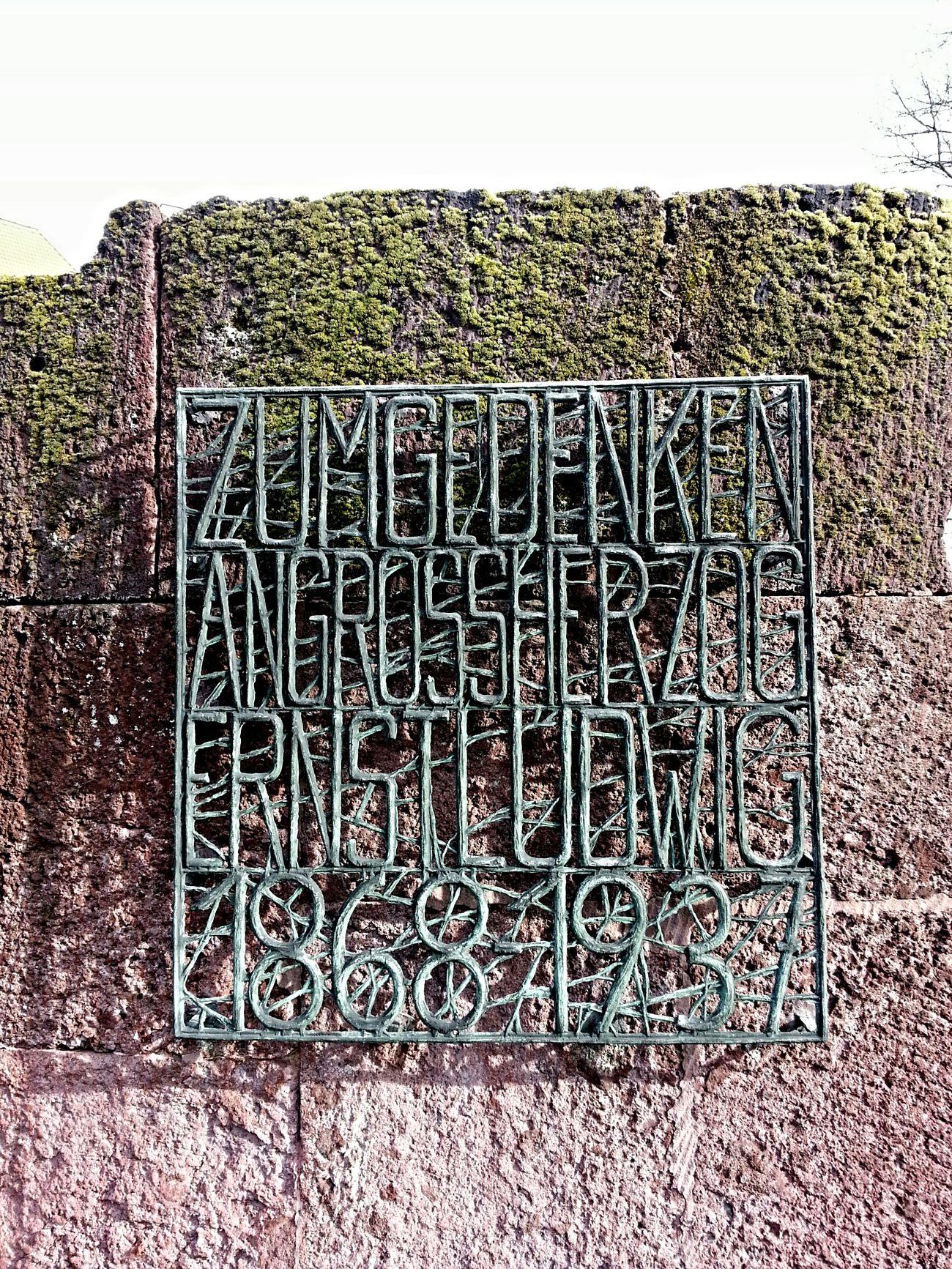 Darmstadt Zum Gedenken Ernst Ludwig