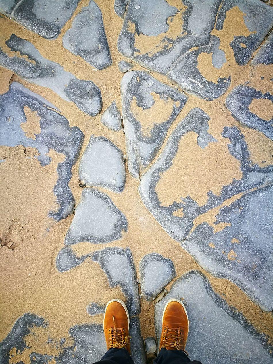 Walking On The Beach Beachphotography United Kingdom Penarth Lavernock Point Cardiff, Beach Walk Beachlovers Wonderful Moment Wales❤ Two Feet Two Feet In The Sand Feet On The Ground Sand And Sea Beachside Beach View
