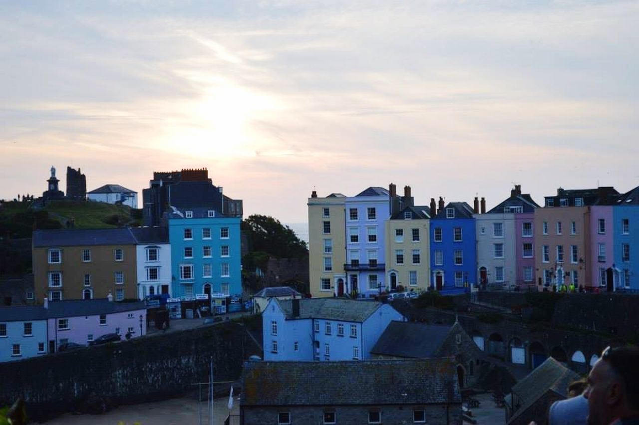 Buildings Sky Sun Colourful Photography Tenby First Eyeem Photo