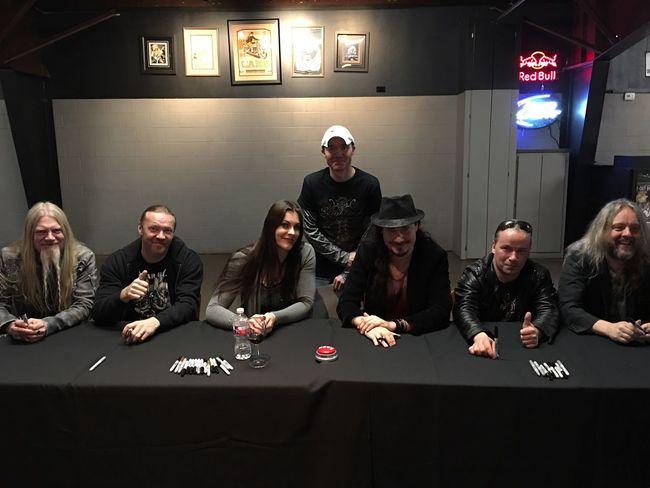 With Nightwish . 🎶 That's Me Tadaa Community Tadaa Friends