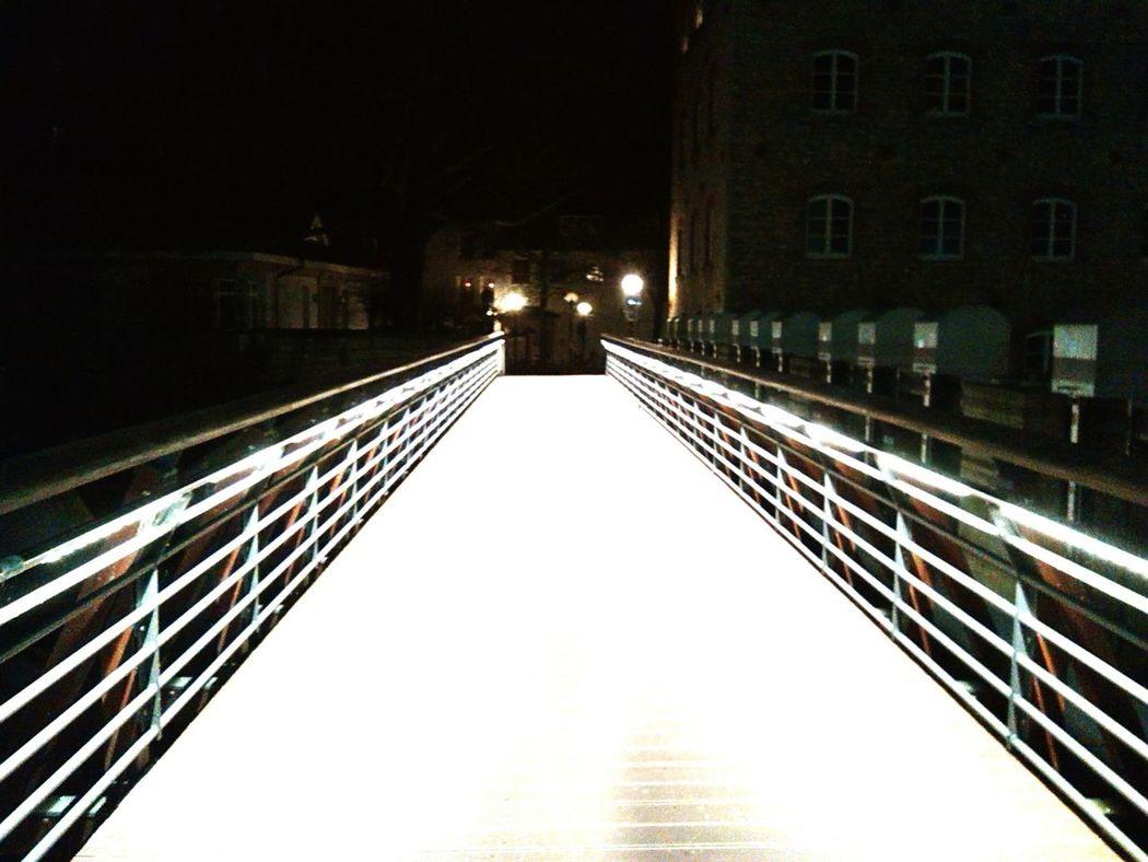 Bridge Nightphotography Night Lights Nightlights Night View Osnabrück Altstadt Osnabrück