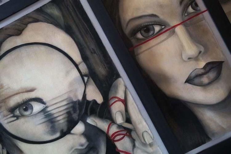 my art work... Things I Like Art, Drawing, Creativity Art Gallery Peinture Peinture Huile Peintre Oil Painting
