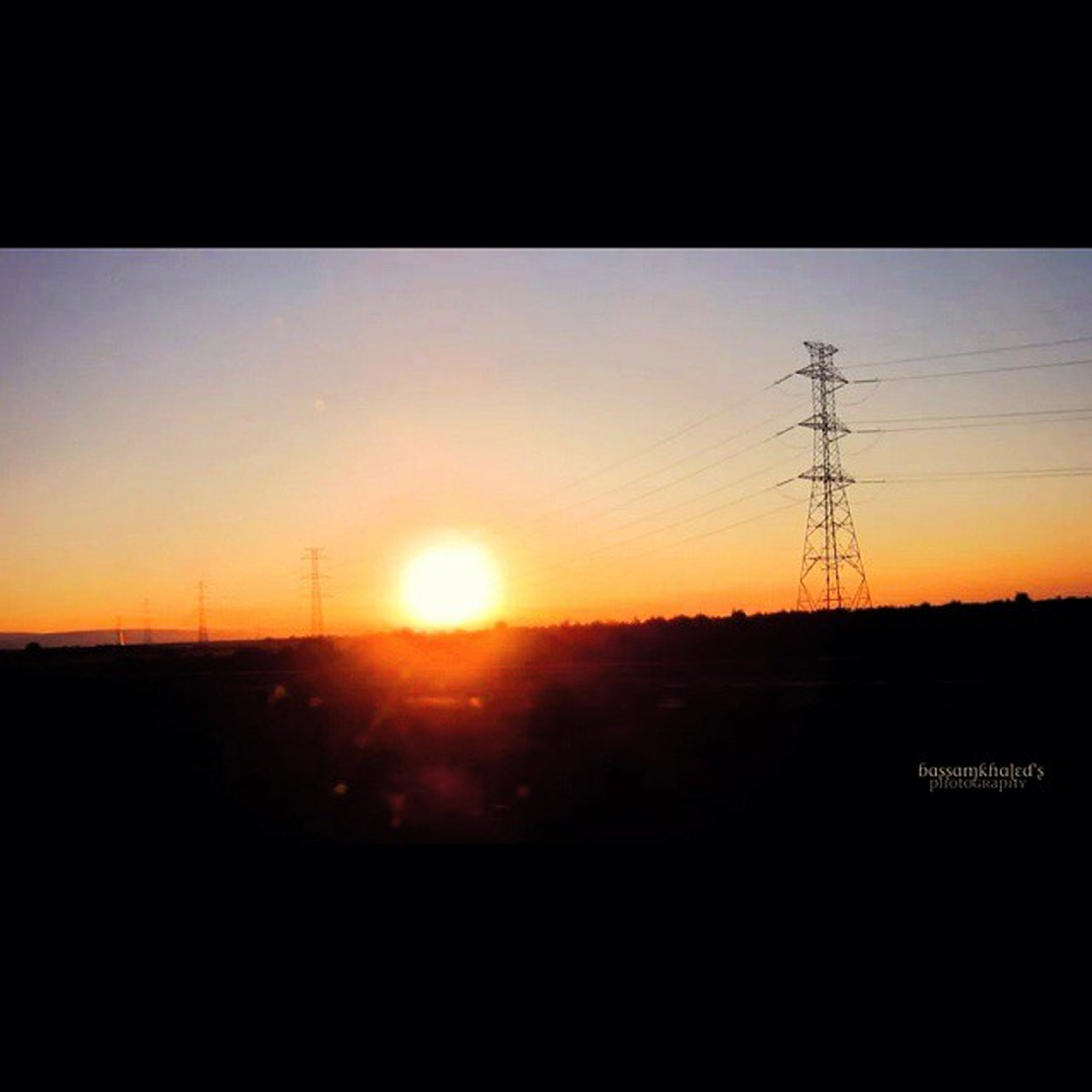 sunset, electricity pylon, power line, silhouette, sun, power supply, electricity, connection, cable, fuel and power generation, landscape, orange color, sky, scenics, tranquility, tranquil scene, power cable, nature, sunlight, beauty in nature