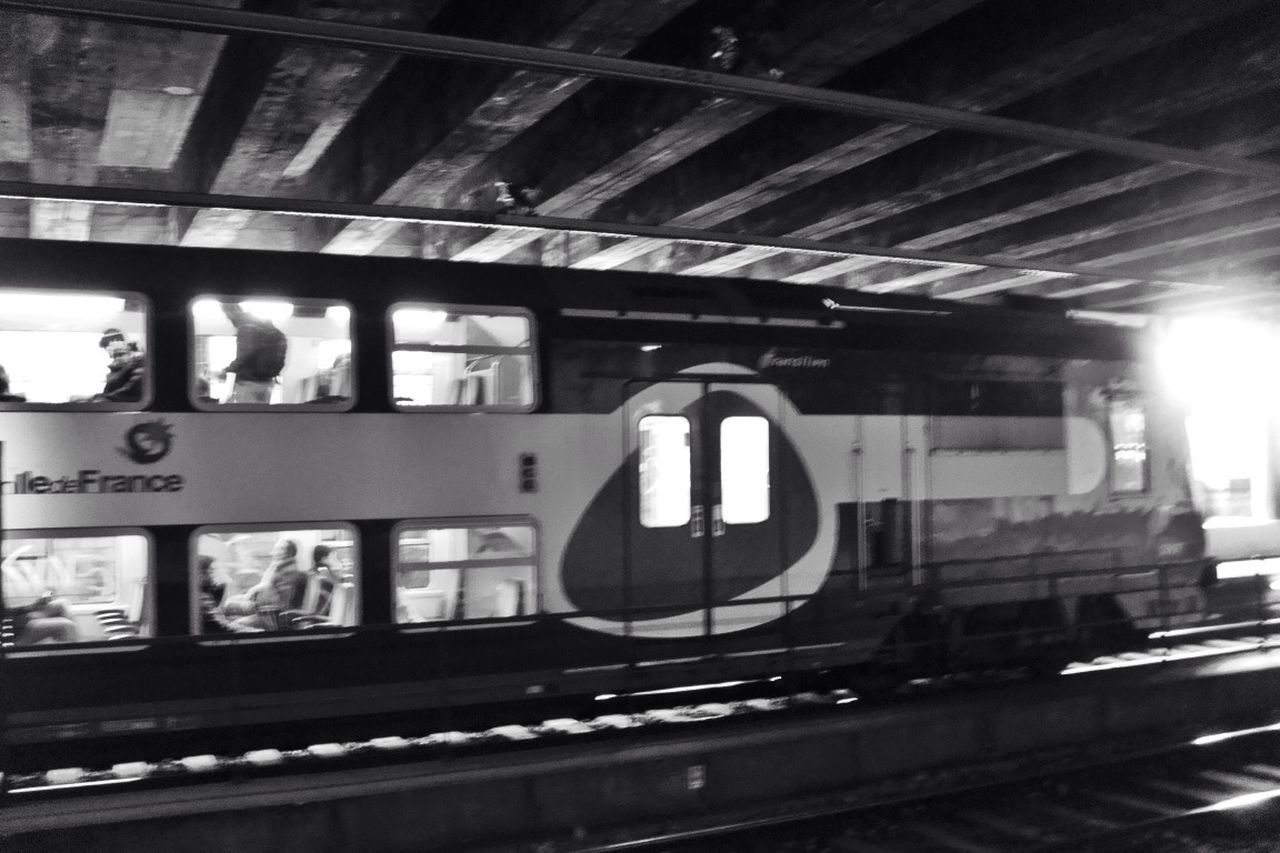 transportation, railroad track, mode of transport, railroad station, journey
