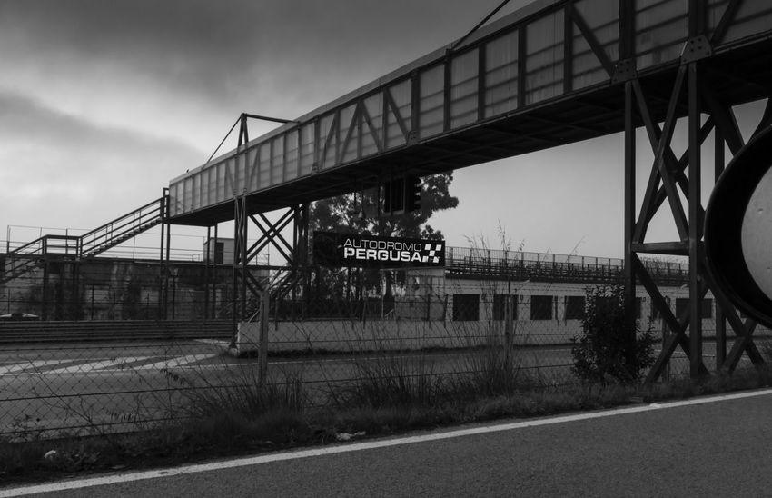 Autodromo di Pergusa (Enna) Racing Motorsport Engineering Built Structure Bridge Trinacria The Drive Black And White Photography Visitsicily Catania Nico The Driver