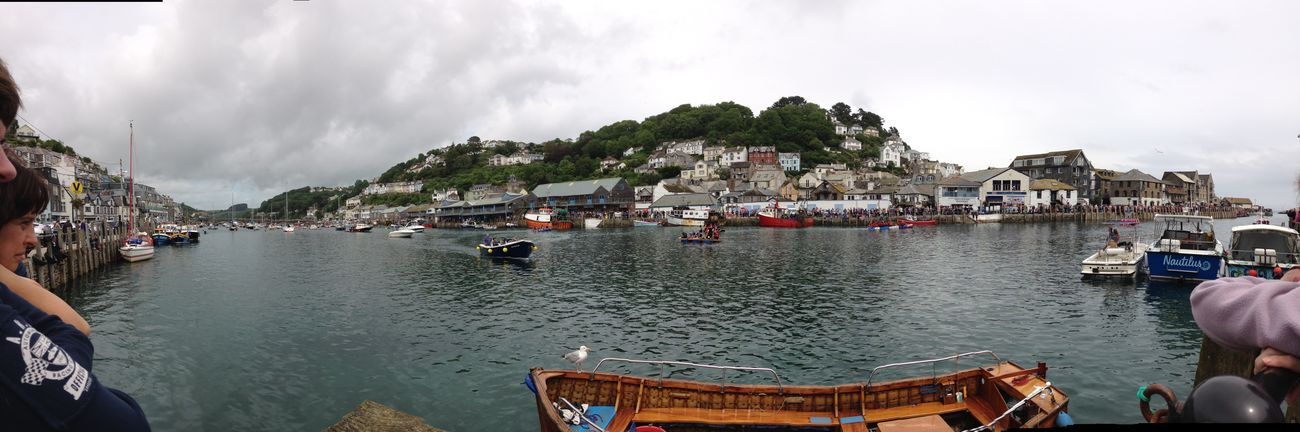 The Great Outdoors - 2015 EyeEm Awards panoramic view of looe Cornwall fantastic place