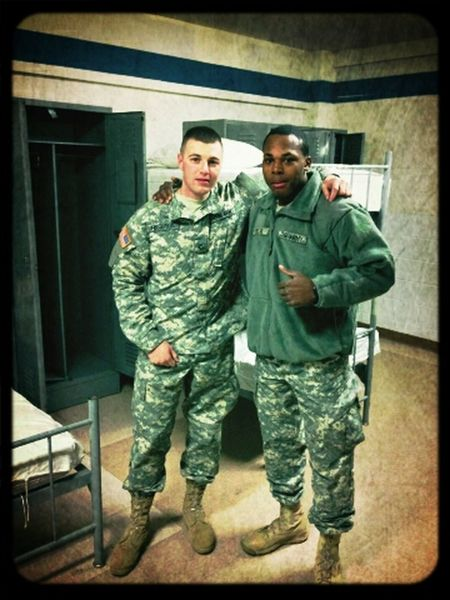 Hanging Out Military #ARMYSTRONG