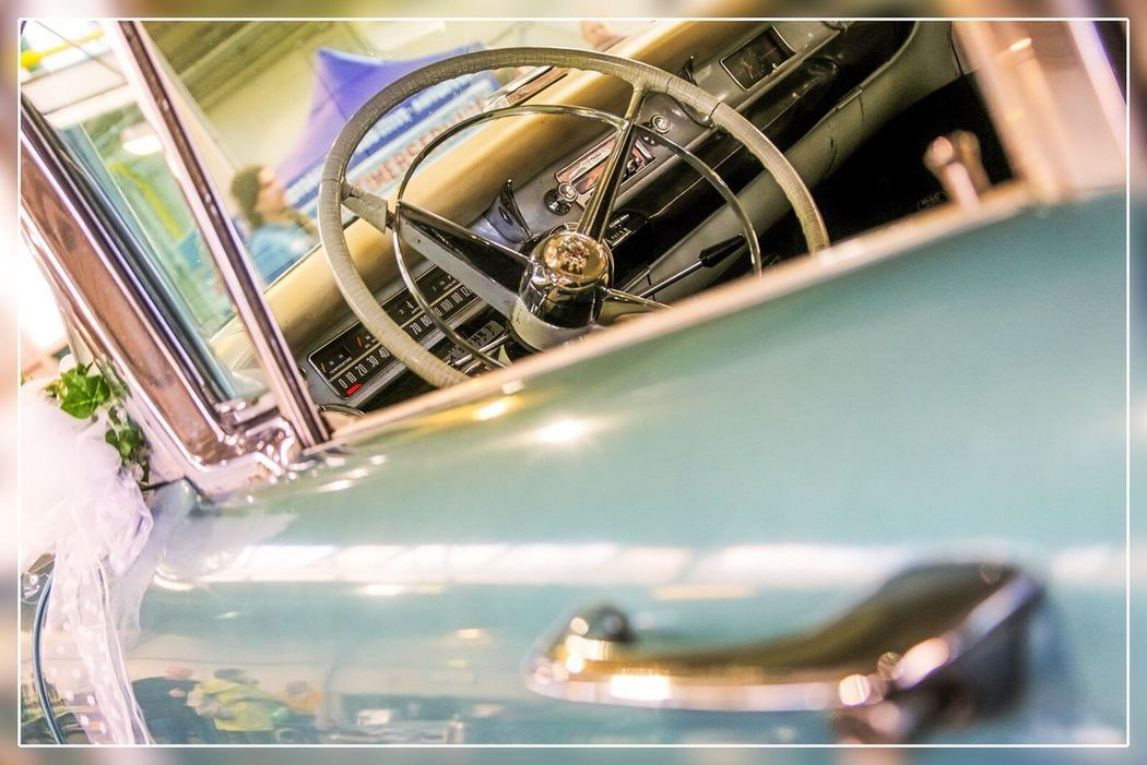 Transportation Close-up Day Indoors  EyeEmNewHere Classic Car Oldtimer 50s Car CarShow Fairlane Belair EyeEmNewHere