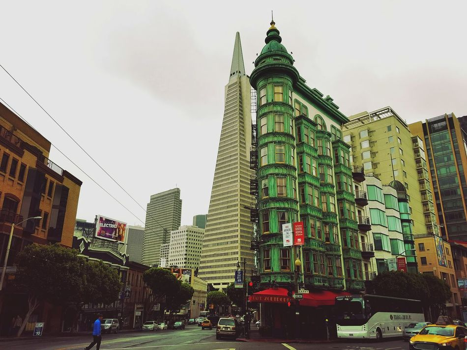 Iron Flats Iconic Buildings Architecture Zoetrope San Francisco Godfather Buildings