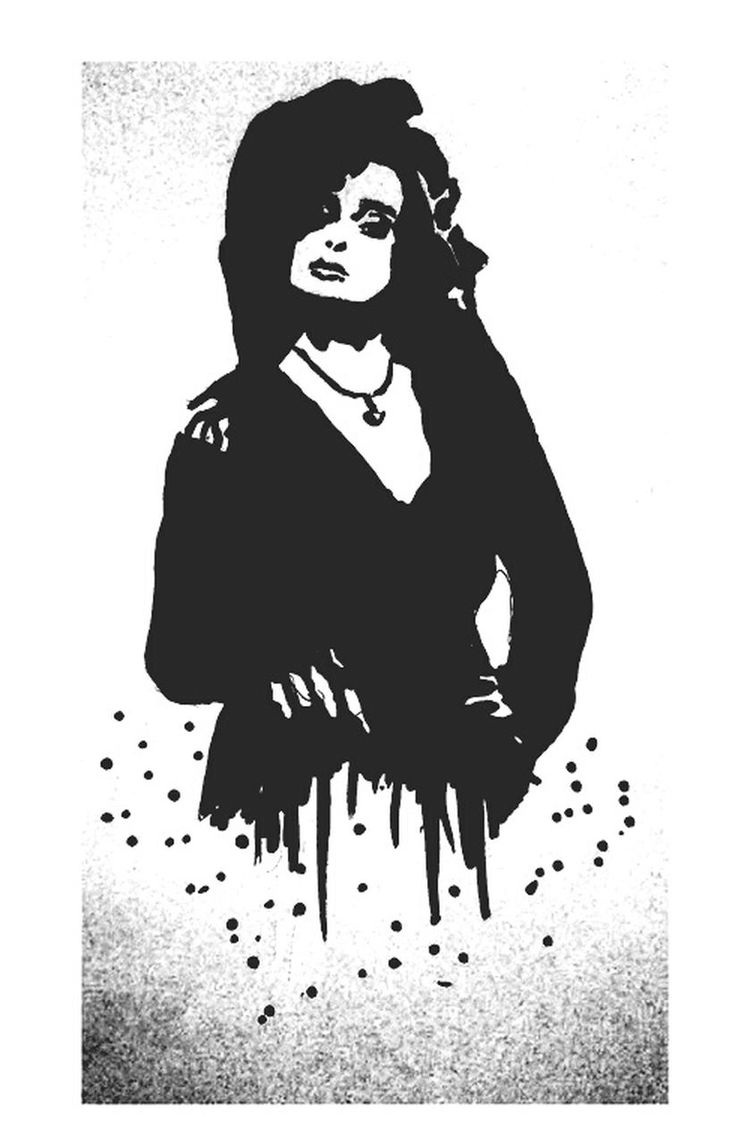 Harry Potter. Bellatrix Lestrange Siriusblack AvadaKedavra HP Harry Potter Popart