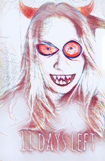Where has the time gone. Adult Fantasy Creativity Ilovehalloween Halloween Demon Do What You Love Snapseed Picsartedit Text
