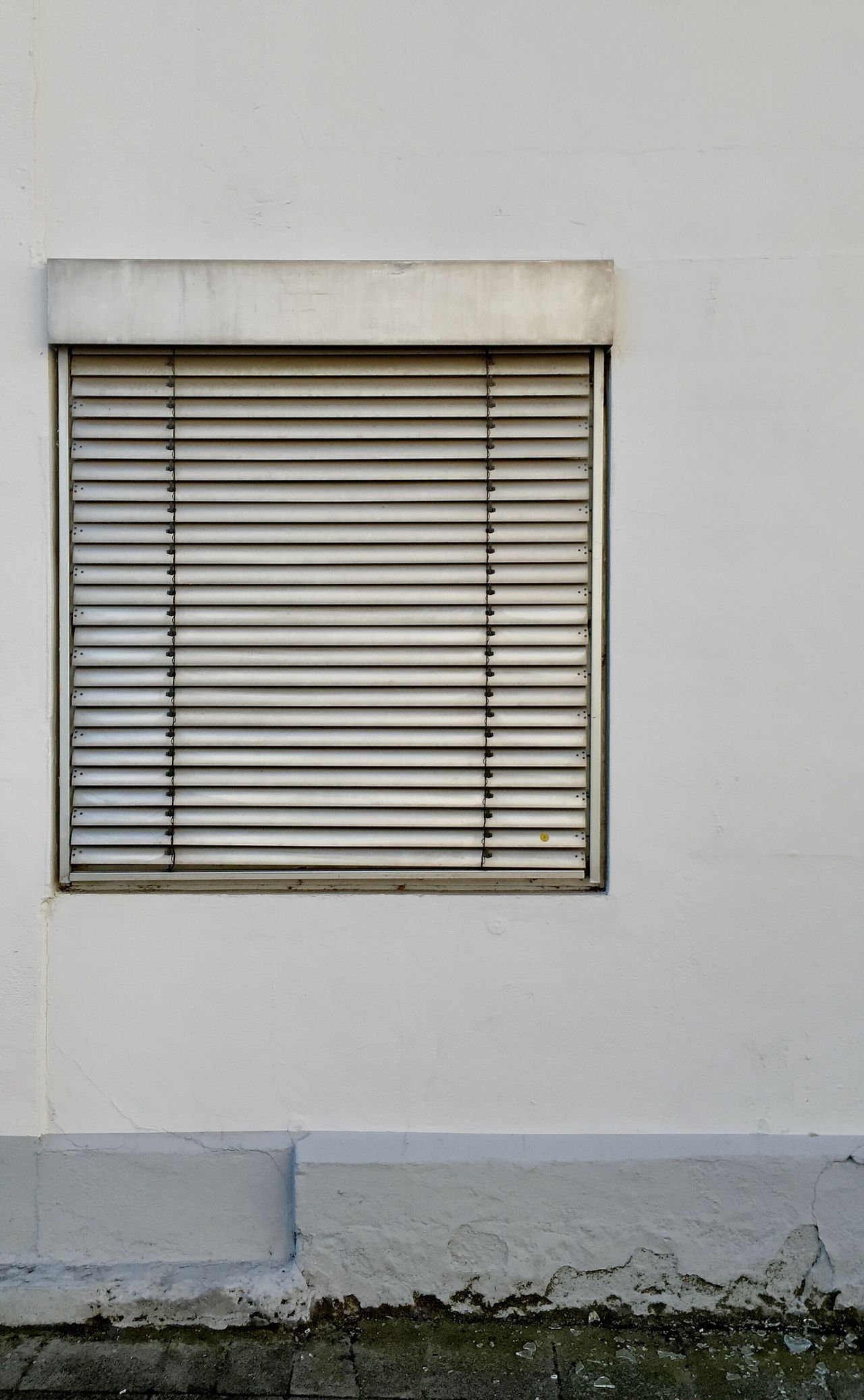 Architecture Window Closed Built Structure No People Building Exterior Day Outdoors Shades Wall Minimalism Simple